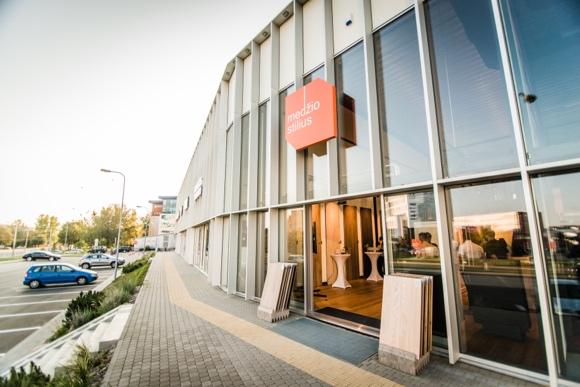 "A new modern ""MEDŽIO STILIUS"" showroom in Vilnius"