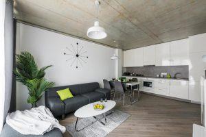 Ąžuolinė grindinė lenta, spalva AQUA 3409