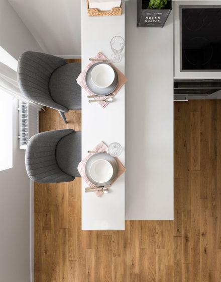 Medinės grindys Besplavė alyva 3305 Medžio stilius