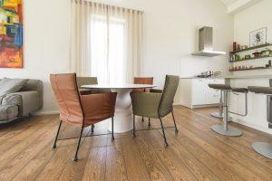 Ąžuolinė grindinė lenta, spalva 3481 Riešutas