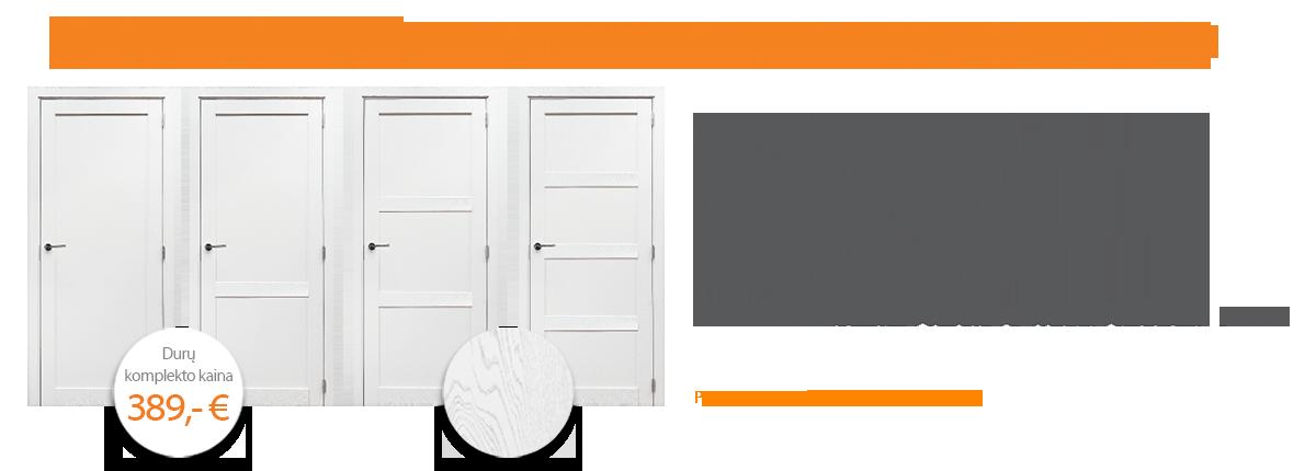 Ąžuolinės masyvo durys