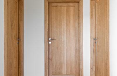 Medinės ąžuolinės durys D1F1S D1F alyvuotos Bespalvė alyva Medžio stilius deko siena