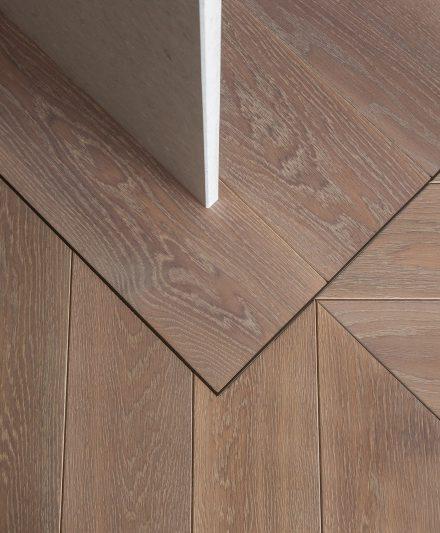 Medinės ąžuolinės grindys: Kakava C-3418.
