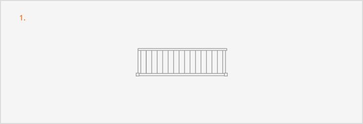 Laiptai i-forma