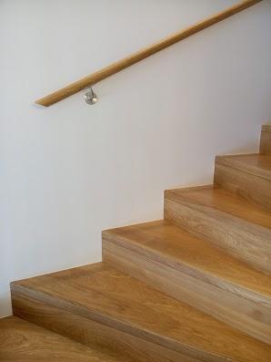 Ąžuoliniai masyvo laiptai: U forma, Bespalvė alyva 3305.